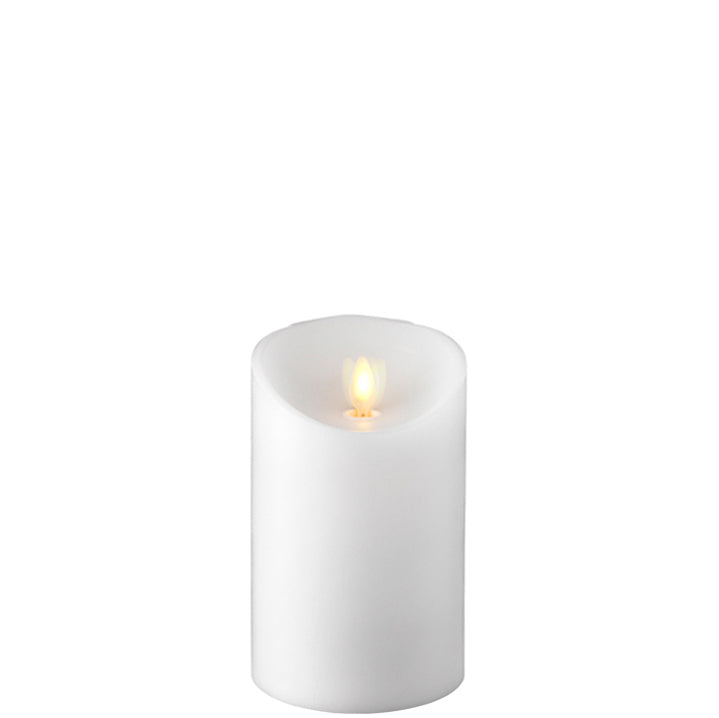 "Moving Flame Pillar Candle 3.5"" x 5.5"""