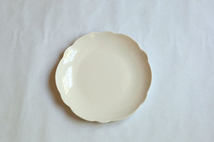 Scallop Dinner Plate 11""