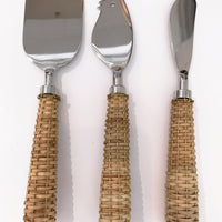 Basket Weave Flatware/Serving Pieces