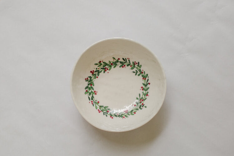Holiday Melamine Bowl