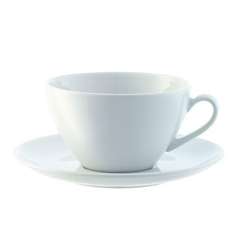 Dine Cappuccino Cup & Saucer Curved