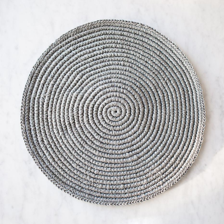Woven Placemat - Stone