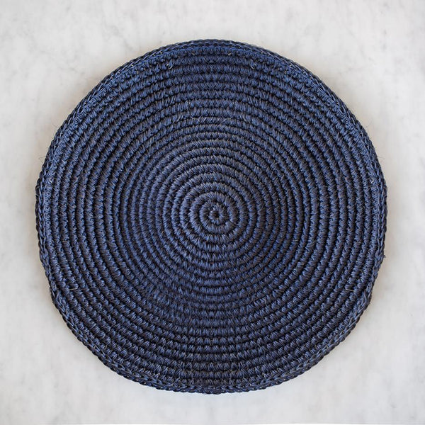 Woven Placemat - Navy
