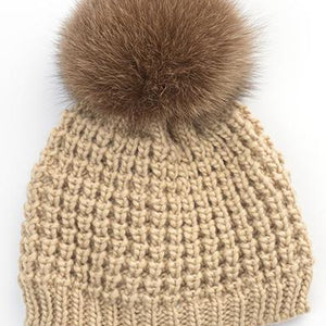 Kids Classic Faux Fur Hat