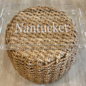 Acrylic Nantucket Tray