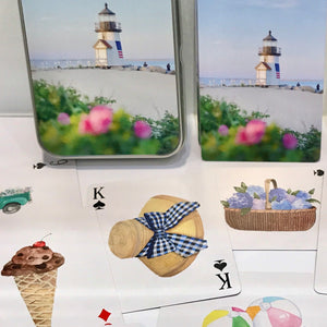 Nantucket Playing Cards - Brant Point Deck