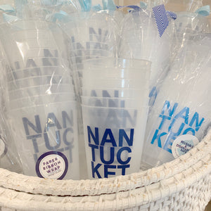 Nantucket Reusable Cups