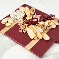 Merlot Rectangle Medium Charcuterie Board