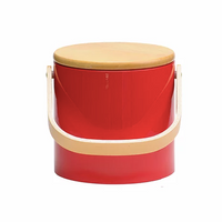 Beachwood Ice Bucket - Red