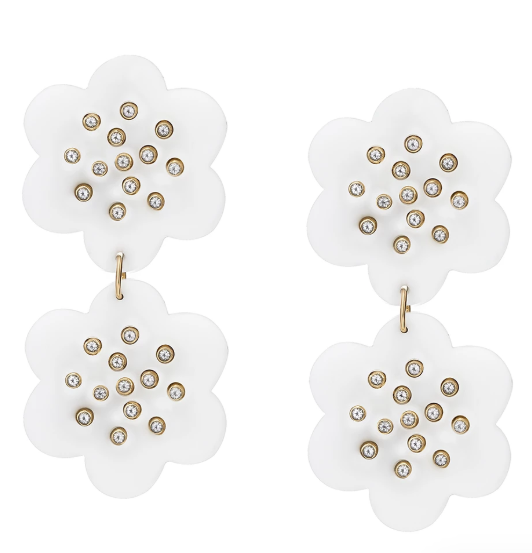Camellia Double Earrings