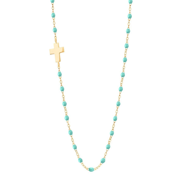Classic Side Cross Necklace