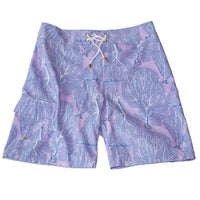Men's Sea Fan Surfer in Lilac/Blue