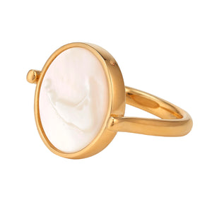 Nantucket MOP Sleek Rings