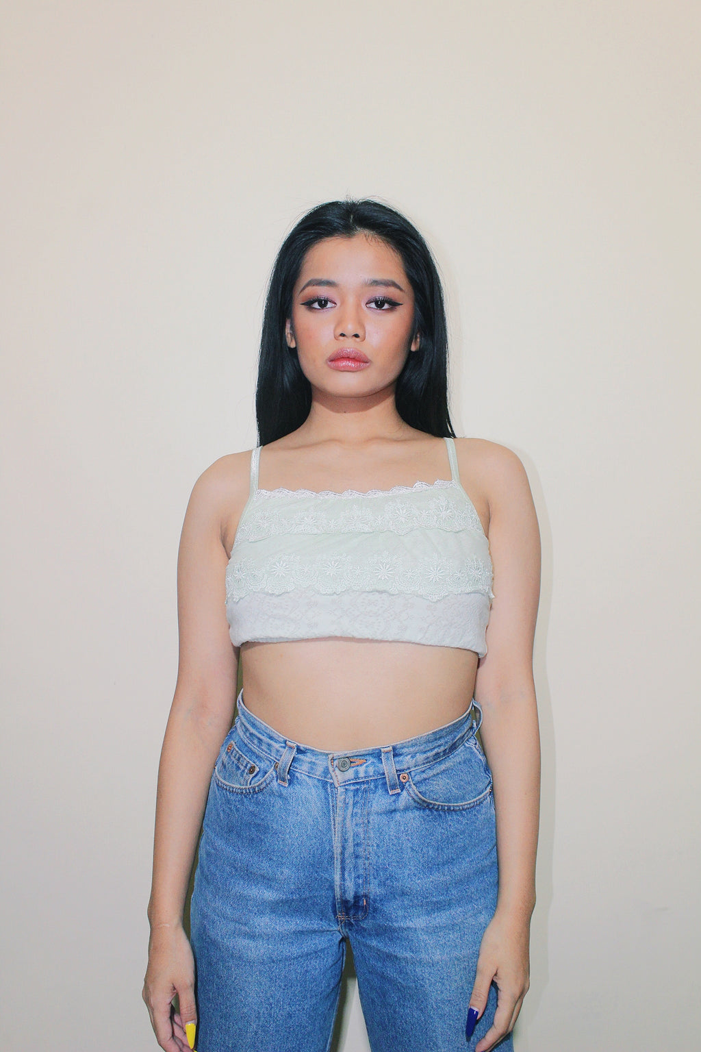 RWRK Sleeveless Crop Top