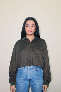 RWRK Long-sleeve Crop Top