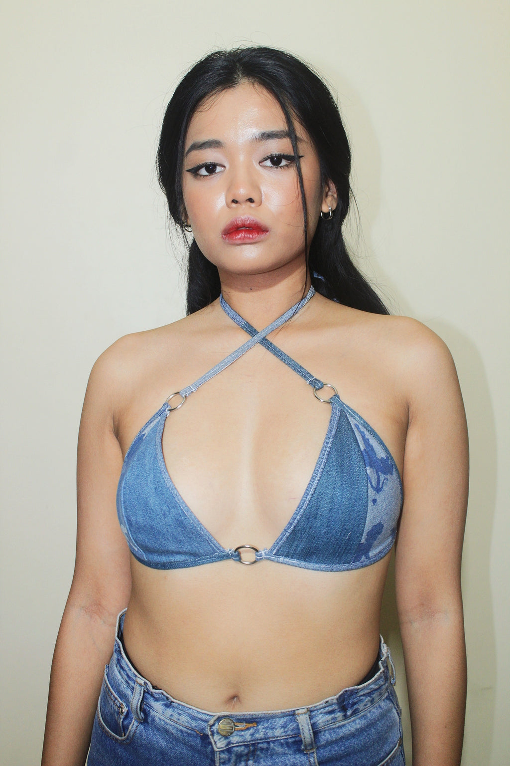 RWRK Denim Bralette
