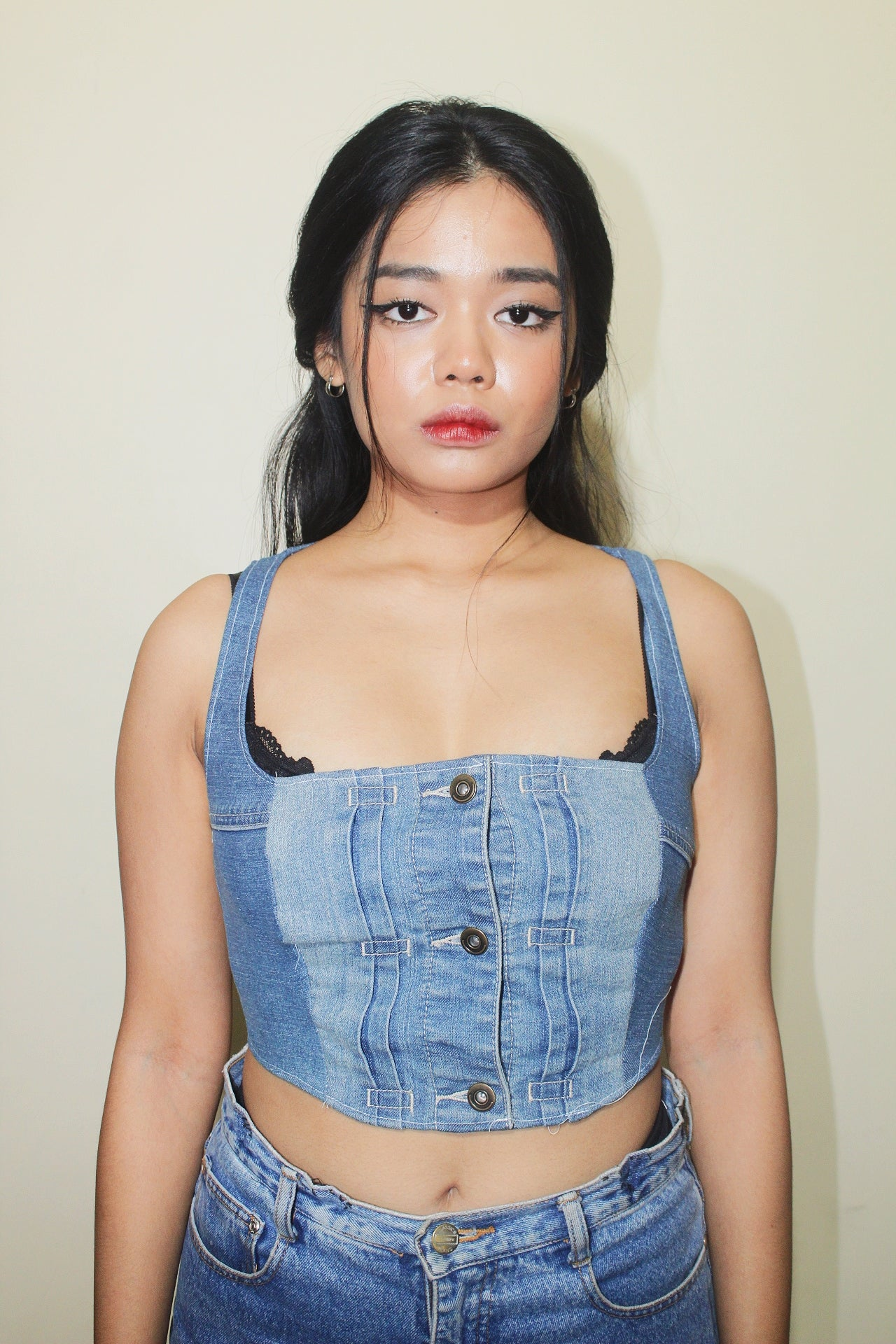 RWRK Denim Bustier