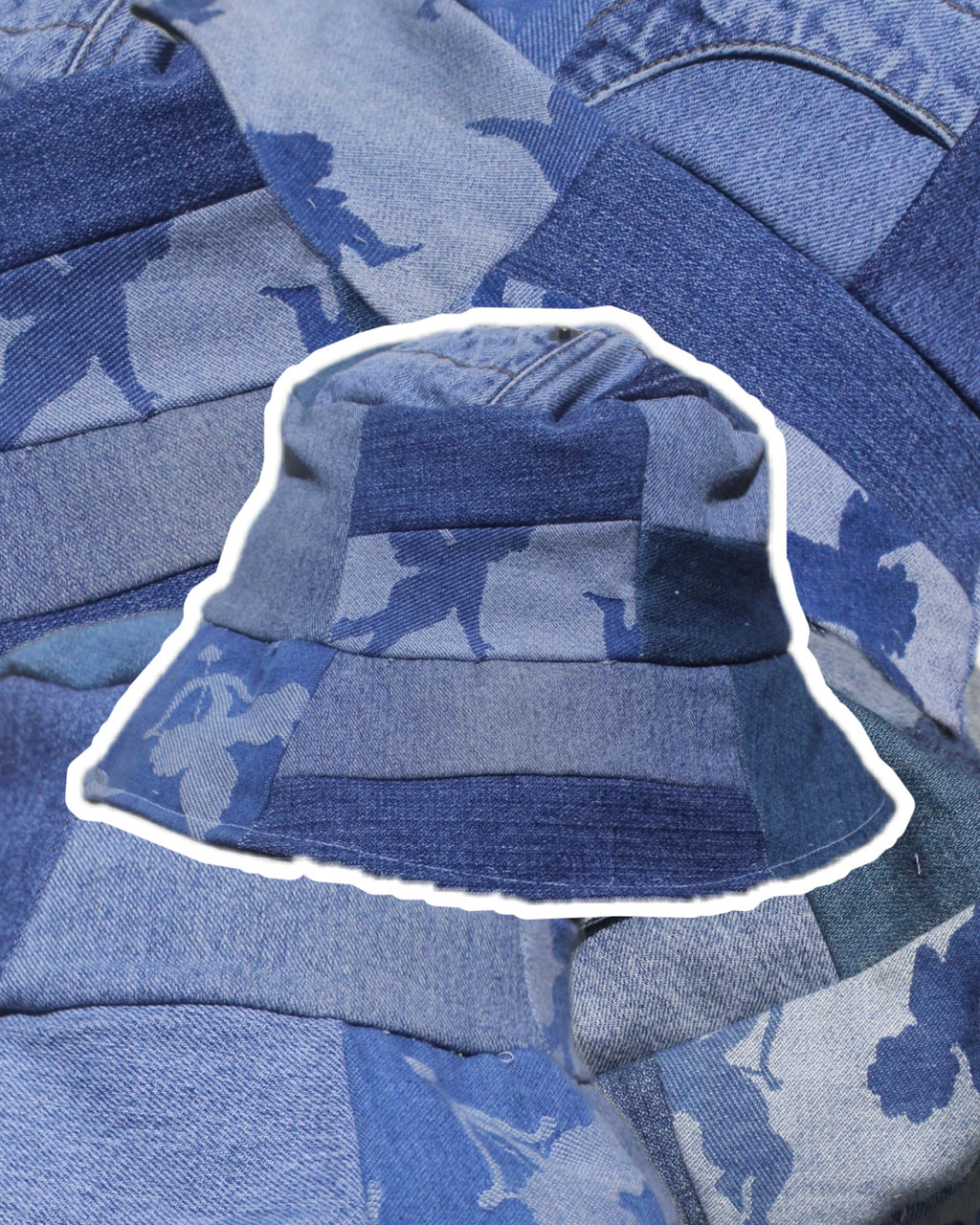 RWRK Denim Bucket Hat