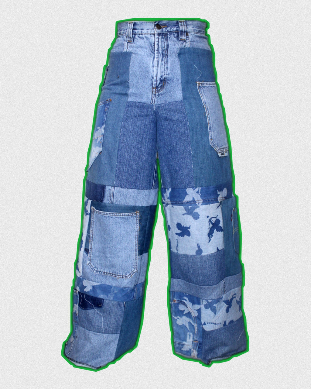 RWRK Denim Wide-leg Pants