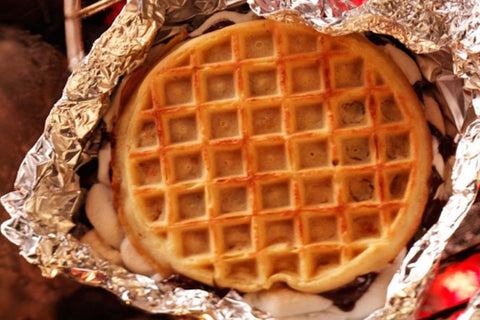 Grilled Waffle Treats - 4 Delicious Things to Grill On The Go