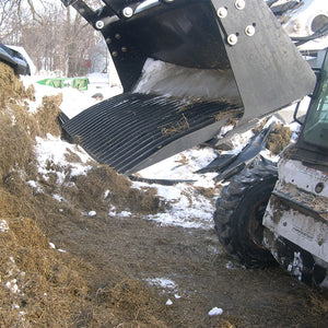 "Paumco HD 96"" Skid Steer Fork Bucket"