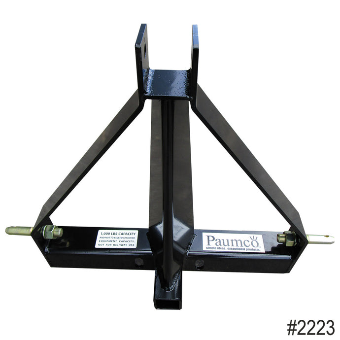 Paumco 3-Point Receiver Hitch (Category 1) - Paumco Products, Inc