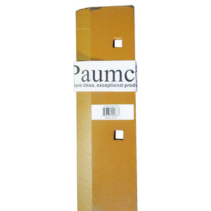 "Paumco #1235 71"" Bolt On Single Blade Bucket Cutting Edge - Paumco Products, Inc"