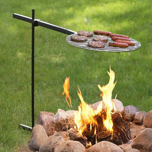 Paumco Original Bob-A-Que Traveler Open Fire Grill - Paumco Products, Inc