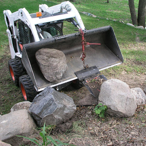 Paumco Quick Spade Combo Skidsteer Fork & Bucket Attachment - Paumco Products, Inc