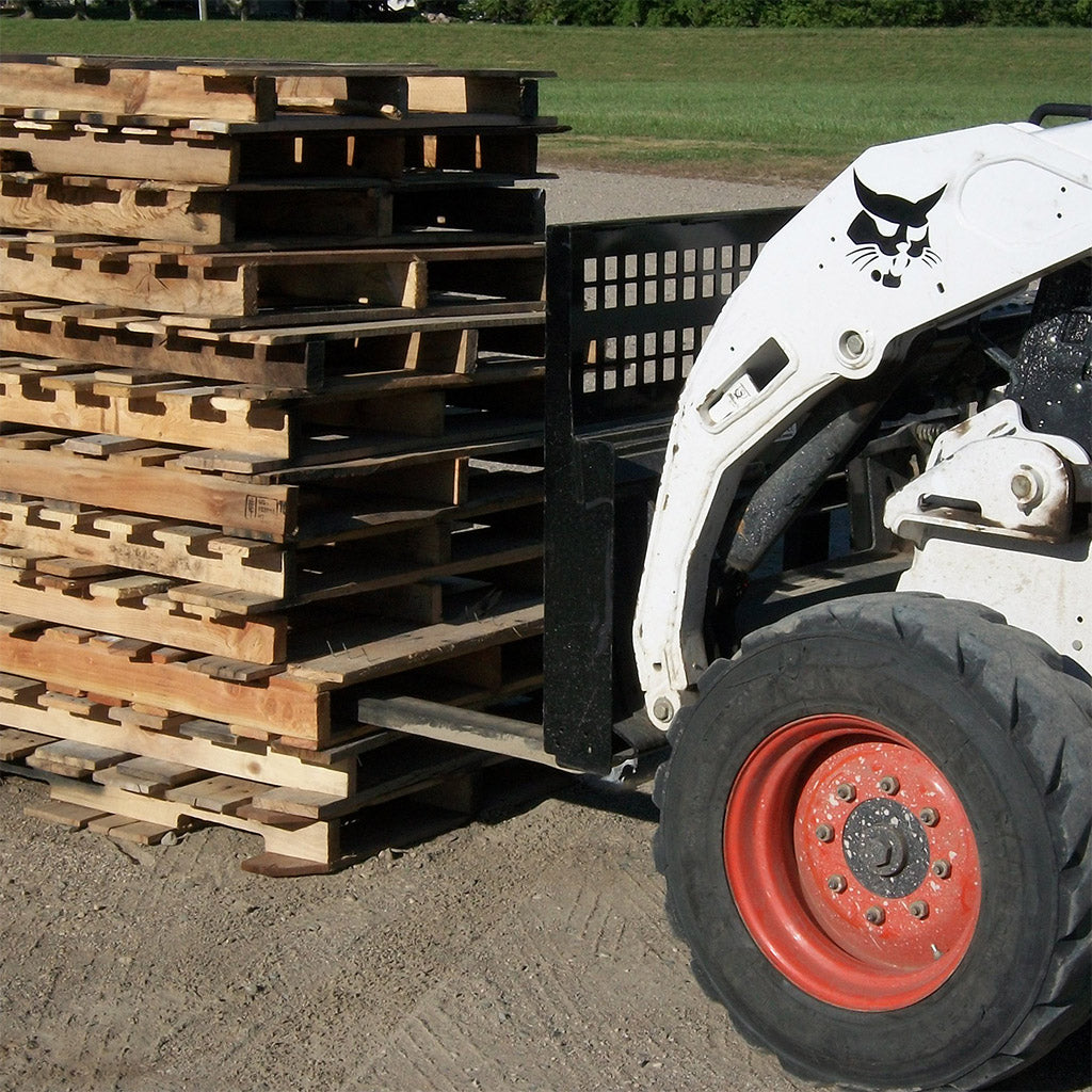 48 Quot Skid Steer Pallet Forks Paumco Products Inc