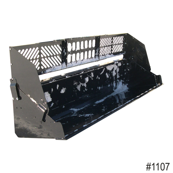 Heavy Equipment Skid Steer Bucket Extended Backstop - Paumco Products, Inc