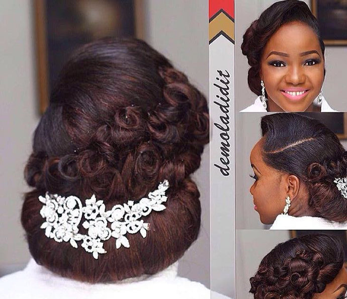 Bridal Hair Styling( Only)