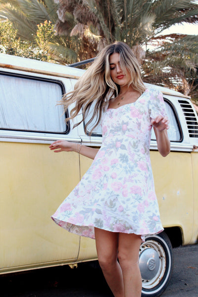 Lottie Floral Mini Dress