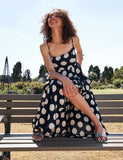 Bridget Polkadot Singlet Dress
