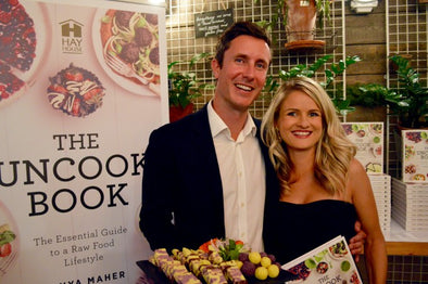 The Uncook Book launch and Pina Colada recipe