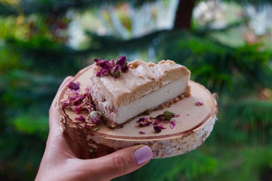 Raw Dairy-free Banoffee Cheesecake
