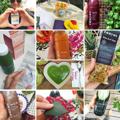 What a day of alkaline cleansing looks like