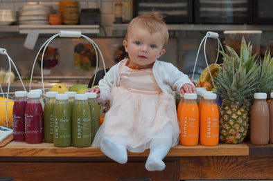 Healthy baby weaning recipes with 3 ingredients or less