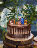 MY KIDS' JOINT PARTY + CHOCOLATE & STRAWBERRY CAKE RECIPE