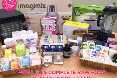 WIN! The Complete Raw Food Kitchen Kit - US Edition!