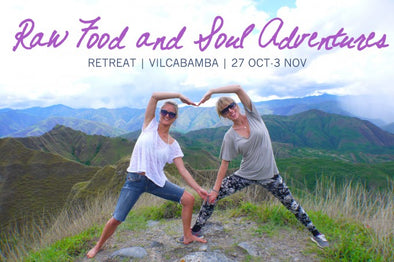 Raw Food & Soul Adventures Retreat 2014 | Vilcabamba, Ecuador