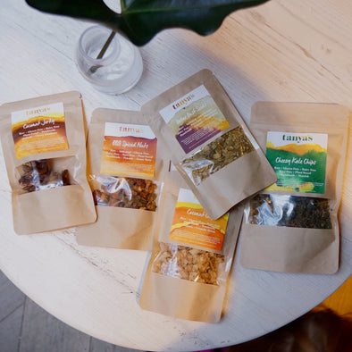 Tanya's dehydrated activated snacks