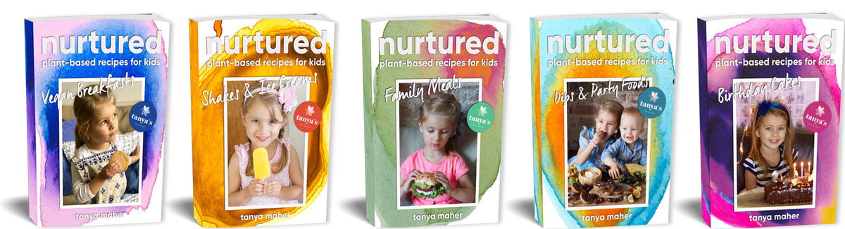 Tanya's Kids Recipe eBooks