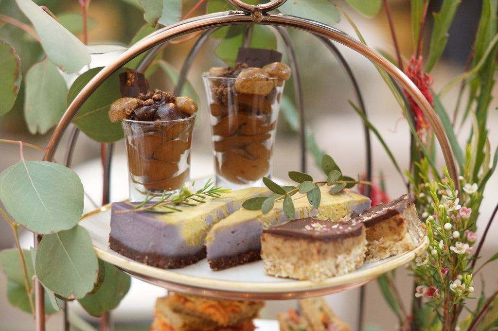 raw food afternoon tea