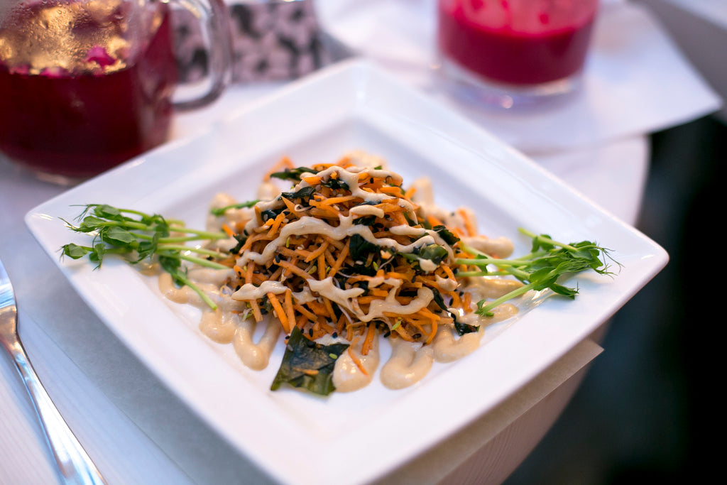 Tanya's superfood supperclub seaweed salad