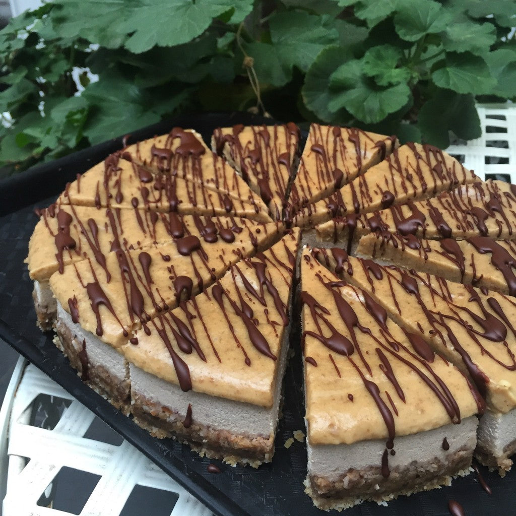 Tanya's cafe raw food recipe Banoffee pie