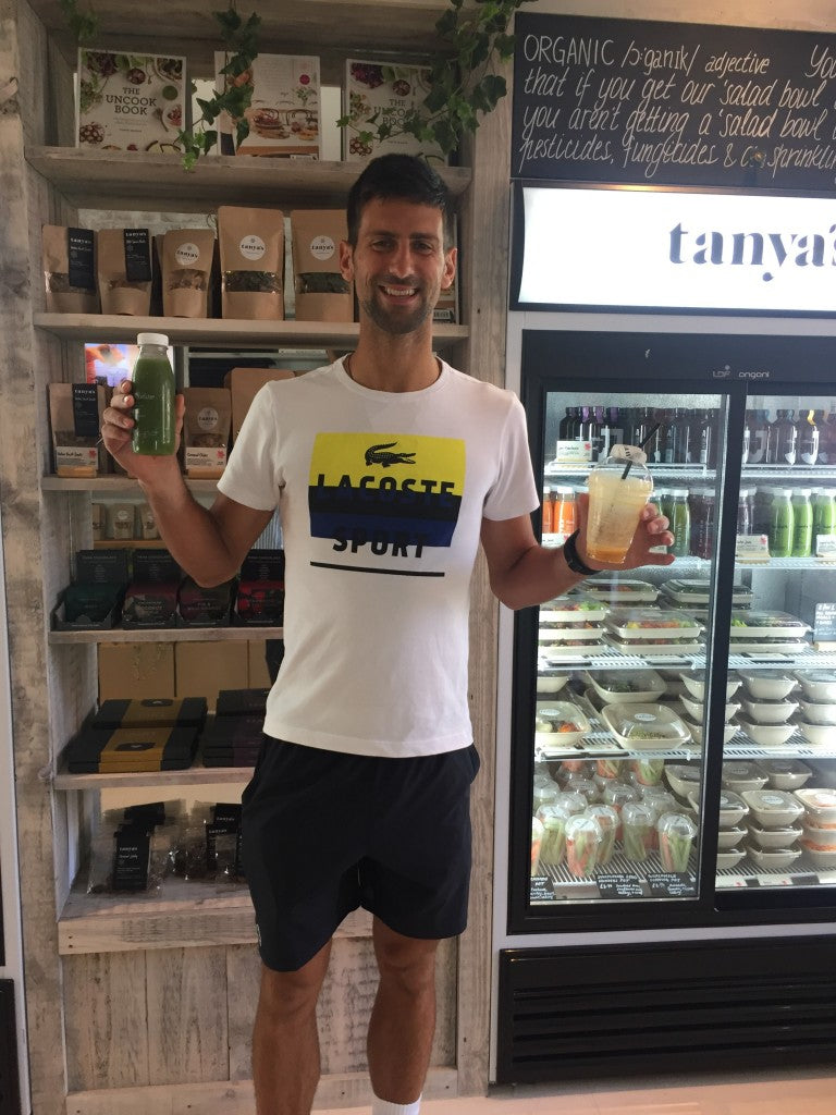 Novak Djokovic raw vegan diet