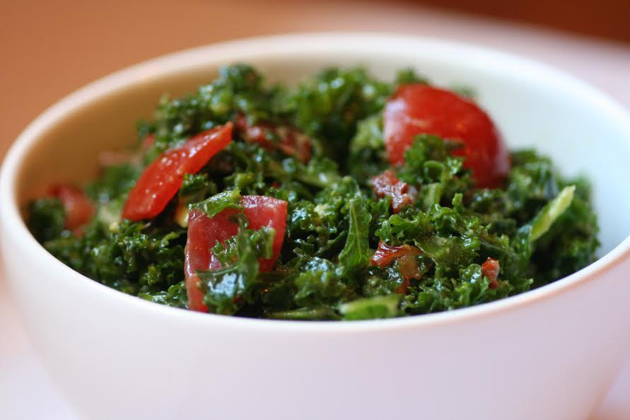 Karen Knowler kale salad recipe _ Master of the Month