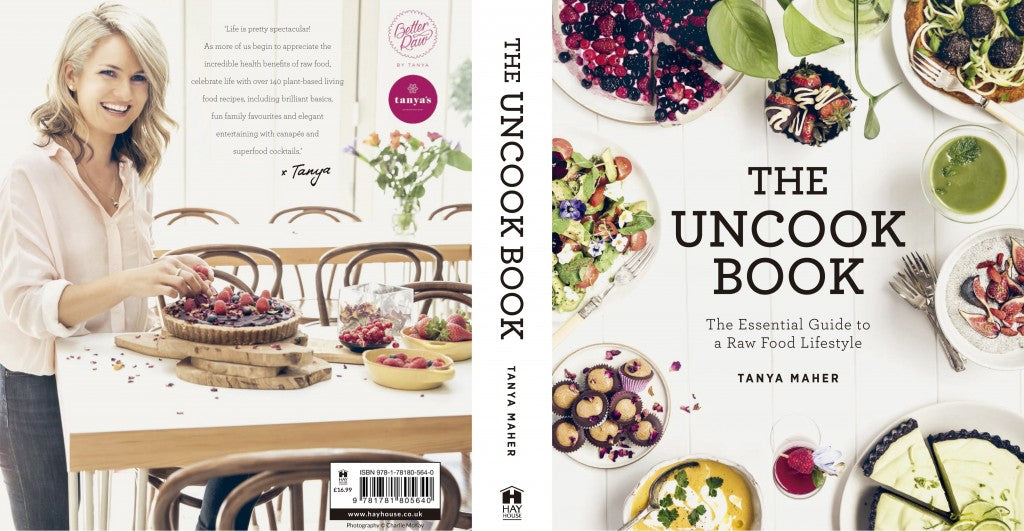 The Uncook Book_ Tanya Maher_ cover