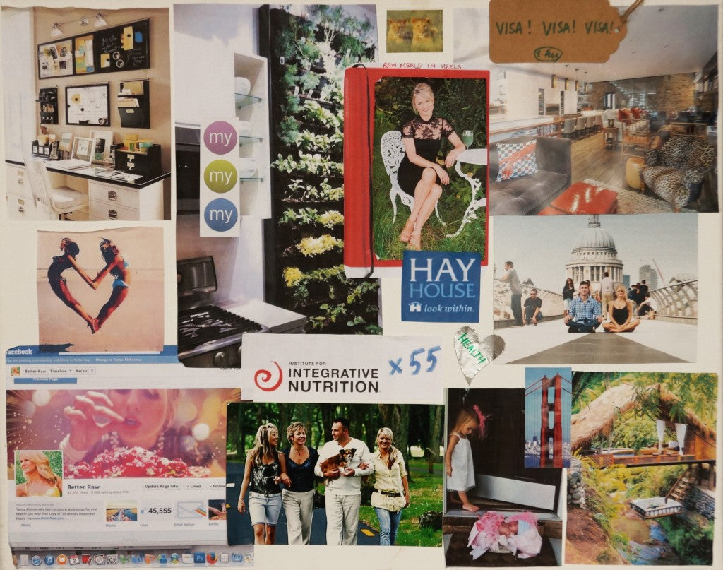 tanya maher_ vision board_ how to_ 2014